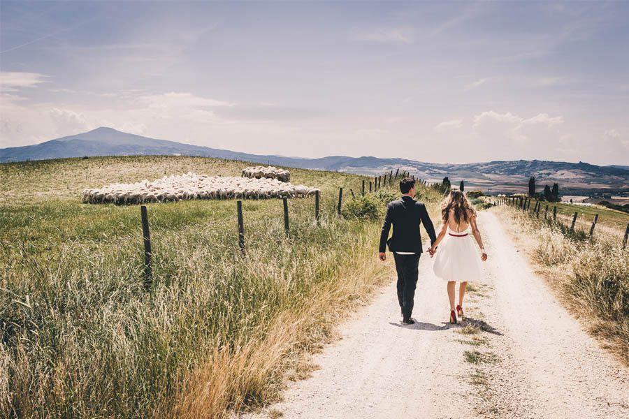 Matrimonio alla tenuta
